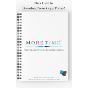 Click Here to Download Your Copy of the MORE TIME E-Book on Canva.com Today!